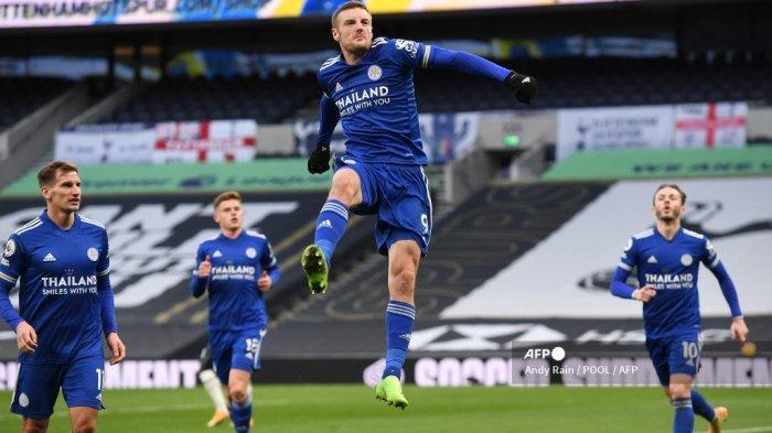 HASIL Liga Inggris, Leicester vs Manchester United, Vardy: Kami Bahagia dengan Satu Poin, tapi