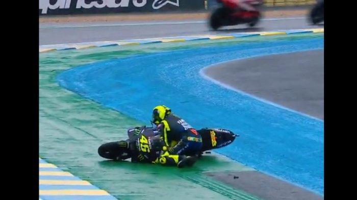 Valentino Rossi Beberkan Penyebab Dia Gagal Finis di Tiga Balapan Beruntun